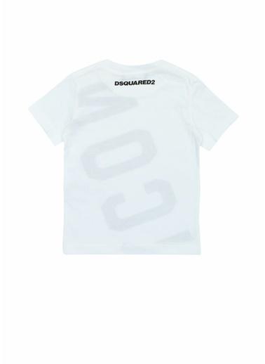 Dsquared2 Tişört Beyaz